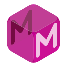 Mighty Minds 'cube' logo