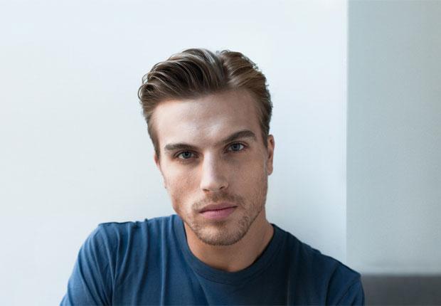 Men's side part - men's hairstyles