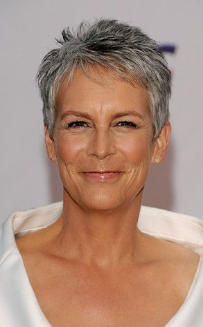 Jamie Lee Curtis - short pixie haircut