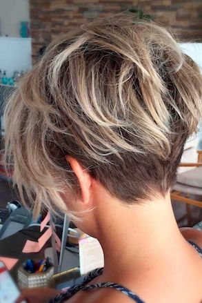 textured crop - short haircuts for women