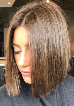 Sleek bob cut - short hairstyles for women