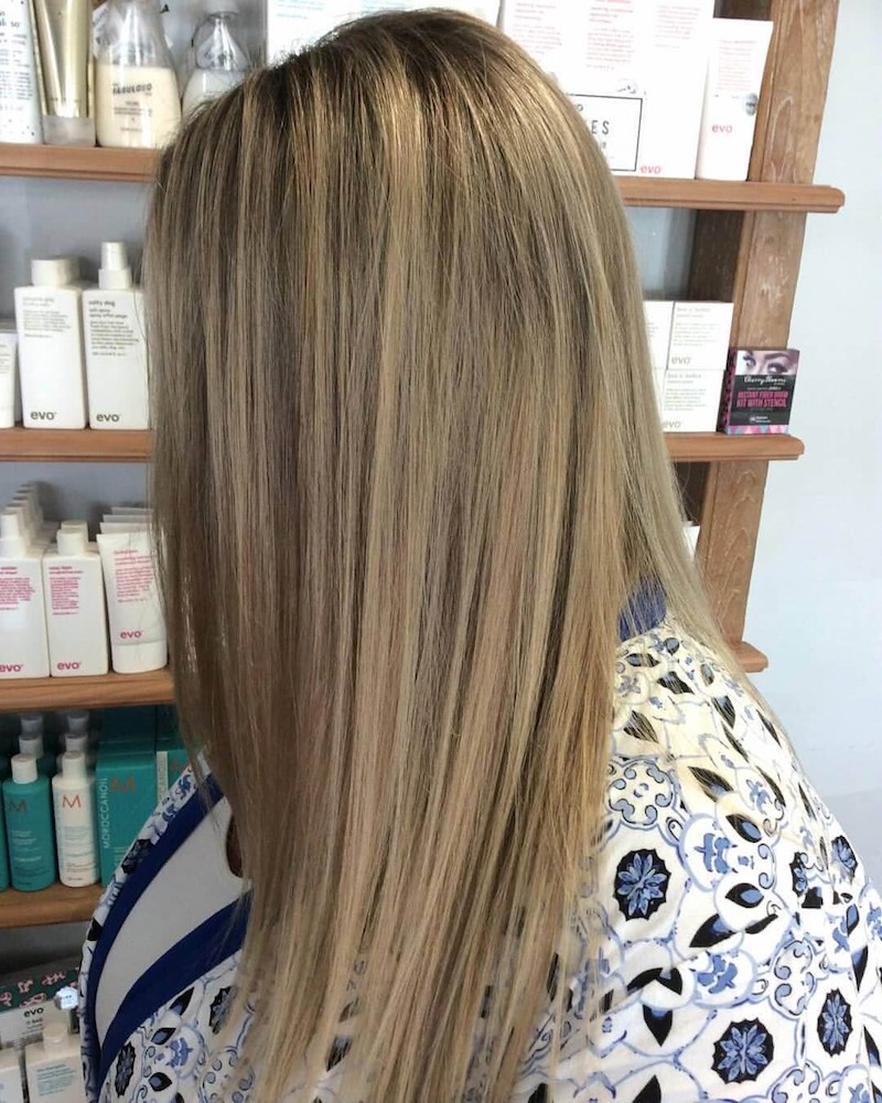 Natural blonde - Kinks hair Fremantle