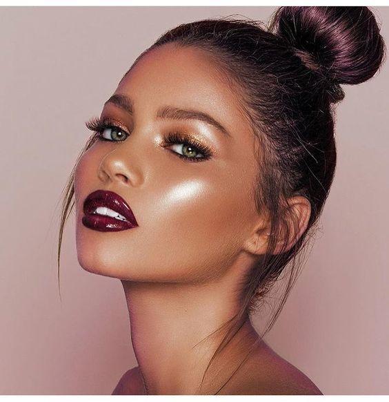 Galaxy inspired makeup - Kinks Hair & Beauty