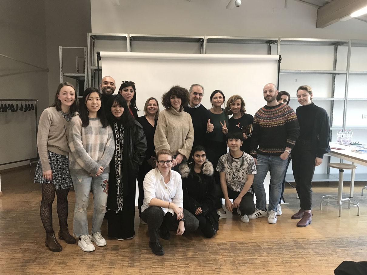 ROBERTO COLLINA MEET CKD STUDENTS