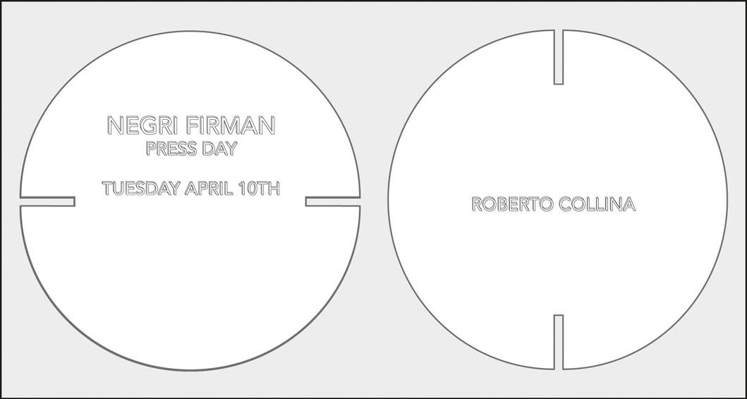 ROBERTO COLLINA FW18 PRESS DAY