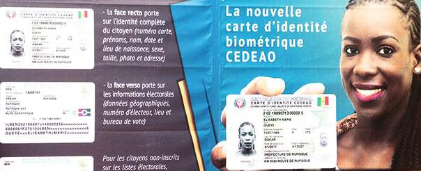 Cartes Biometriques Cedeao