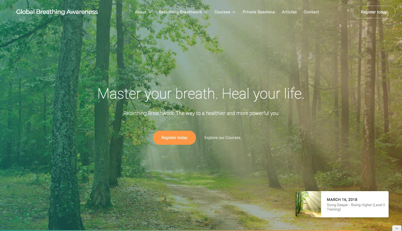 globalbreathingawareness homepage