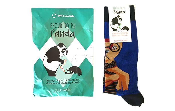 sock panda best sock of the month club