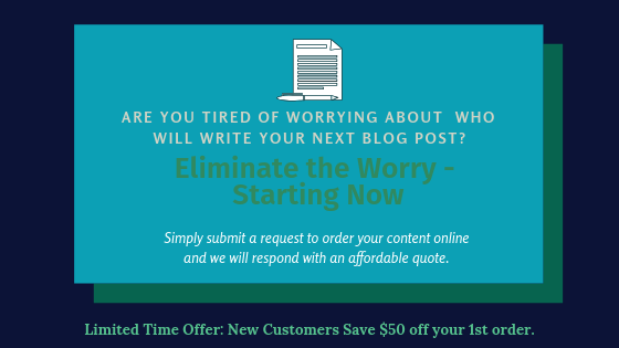 Eliminate worrying with online content ordering
