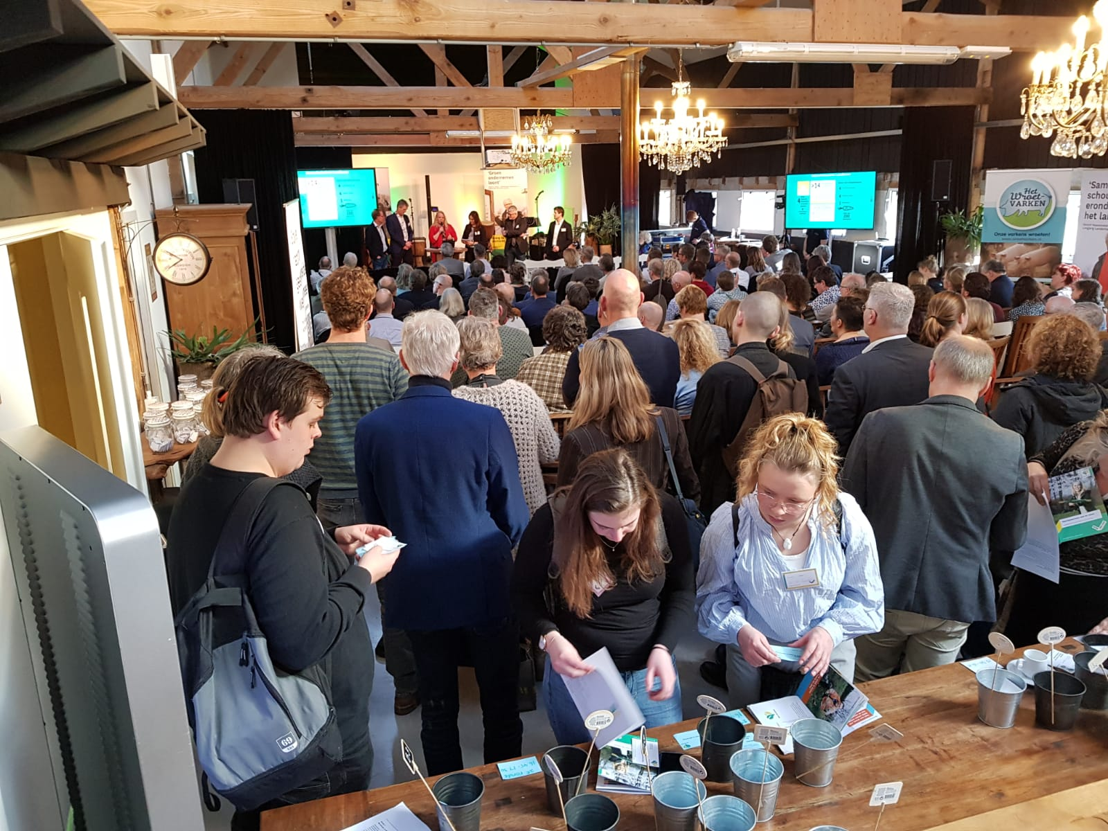 Netwerkbijeenkomst Provincie Overijssel bij De Woeste Wieven