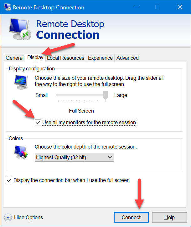 KB1002: How to use Remote Desktop application across