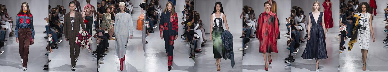 205W39NYC Calvin Klein Spring/Summer 2018