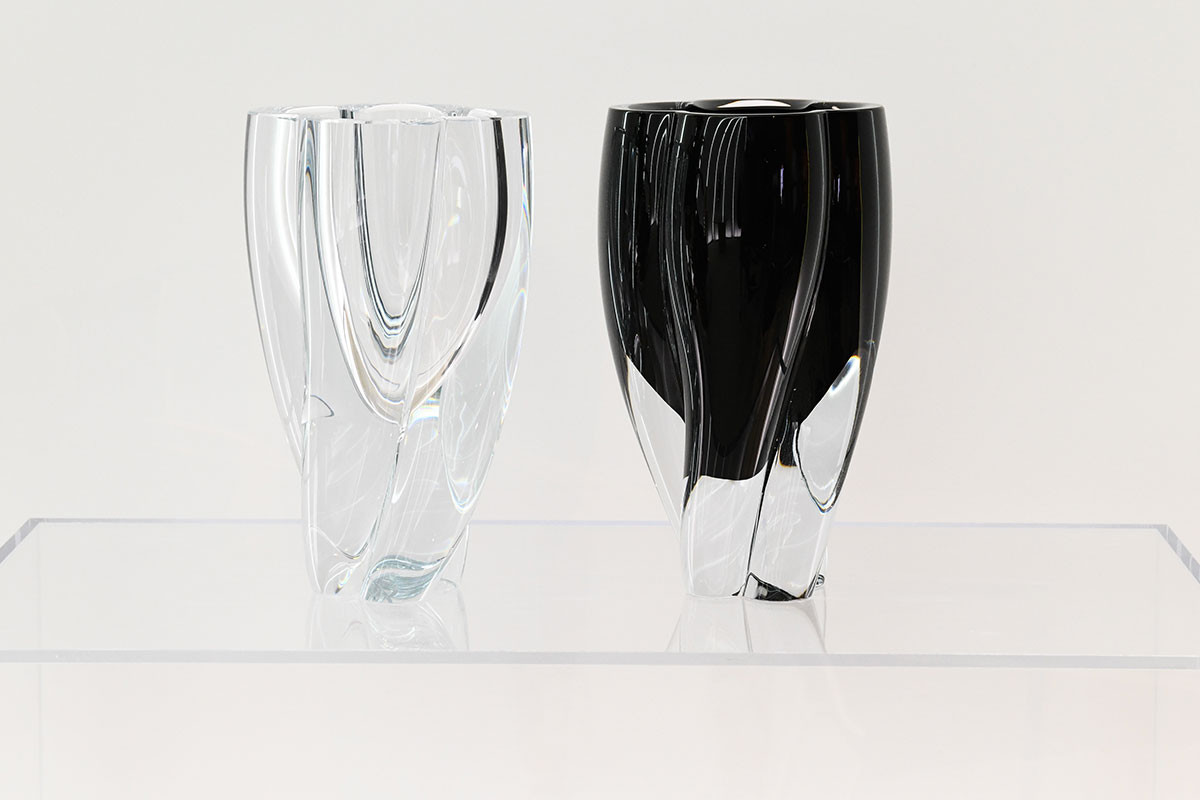 Blossom vases for Louis Vuitton's Objets Nomades line by the Japanese designer Tokujin Yoshioka.