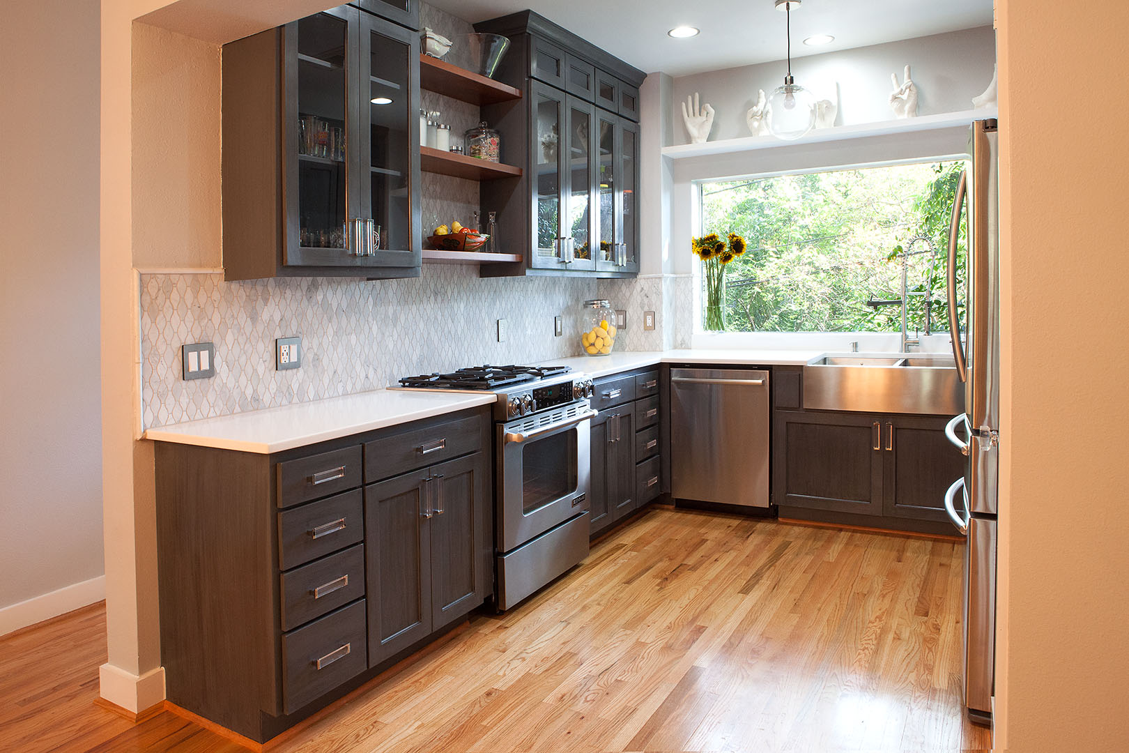 Kitchen interior design in Oakland, CA