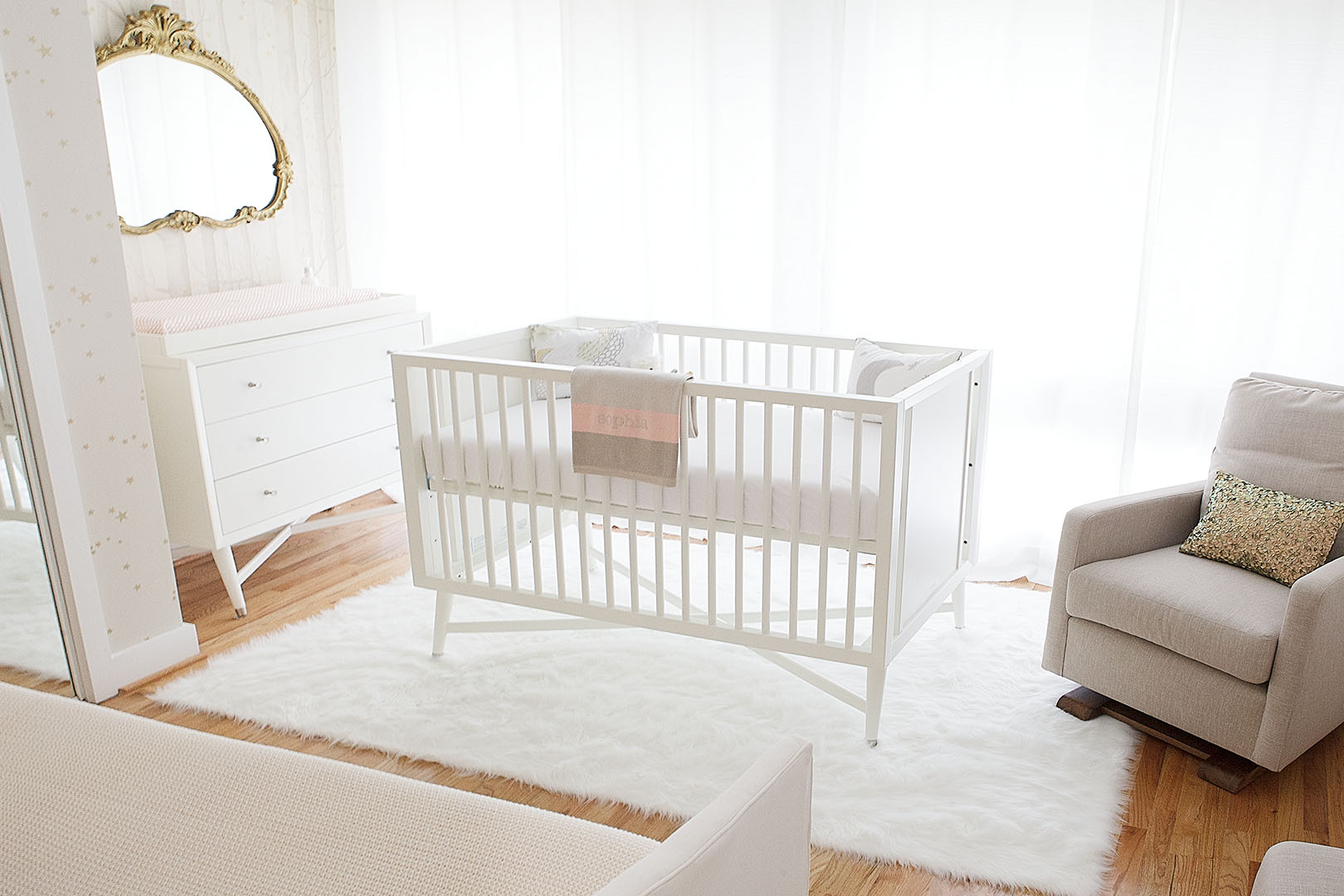 Baby bed design in Oakland, CA
