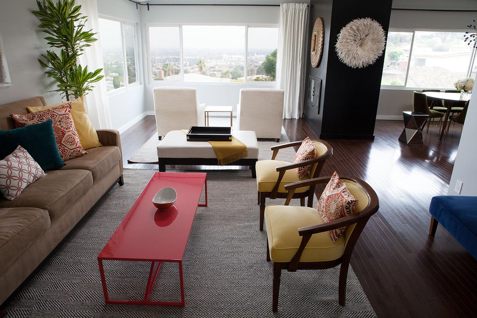 Living room furniture design in Oakland, CA
