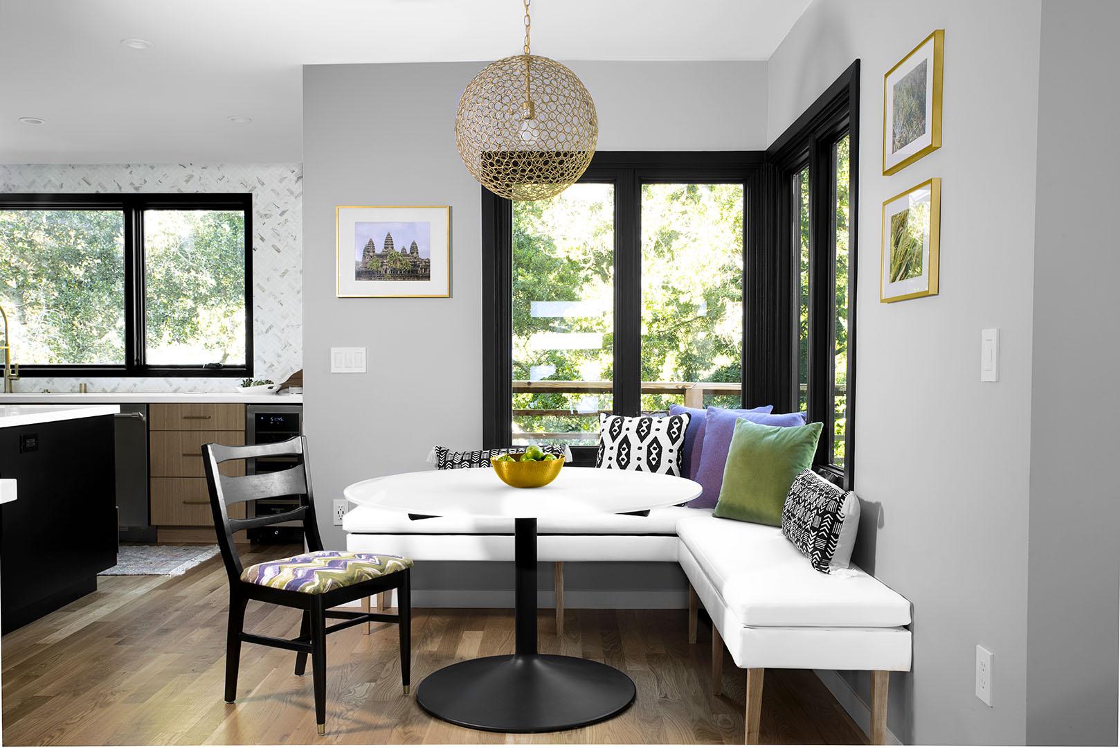 Dining area interior design Oakland, CA