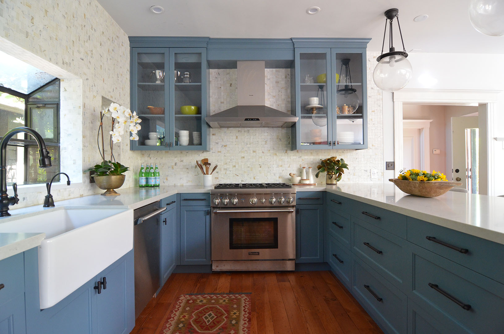 Kitchen interior design in North Berkeley