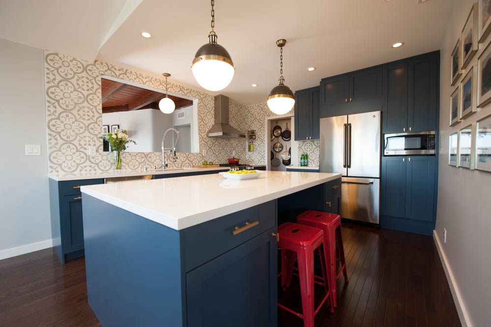 Kitchen countertop design in Oakland, CA