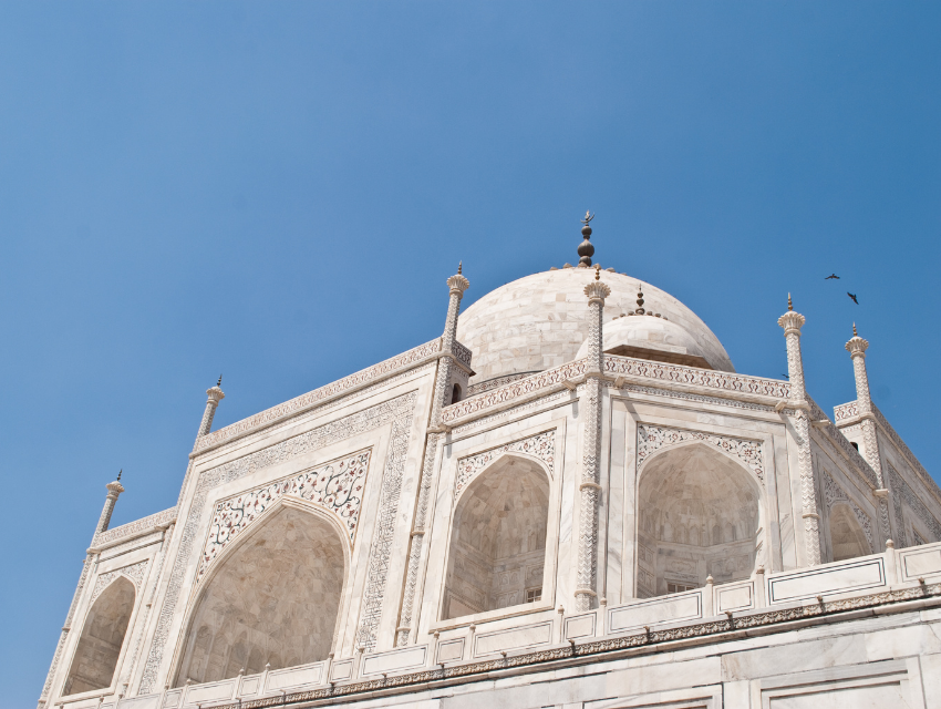 design inspiration taj mahal white marble colorful design exterior