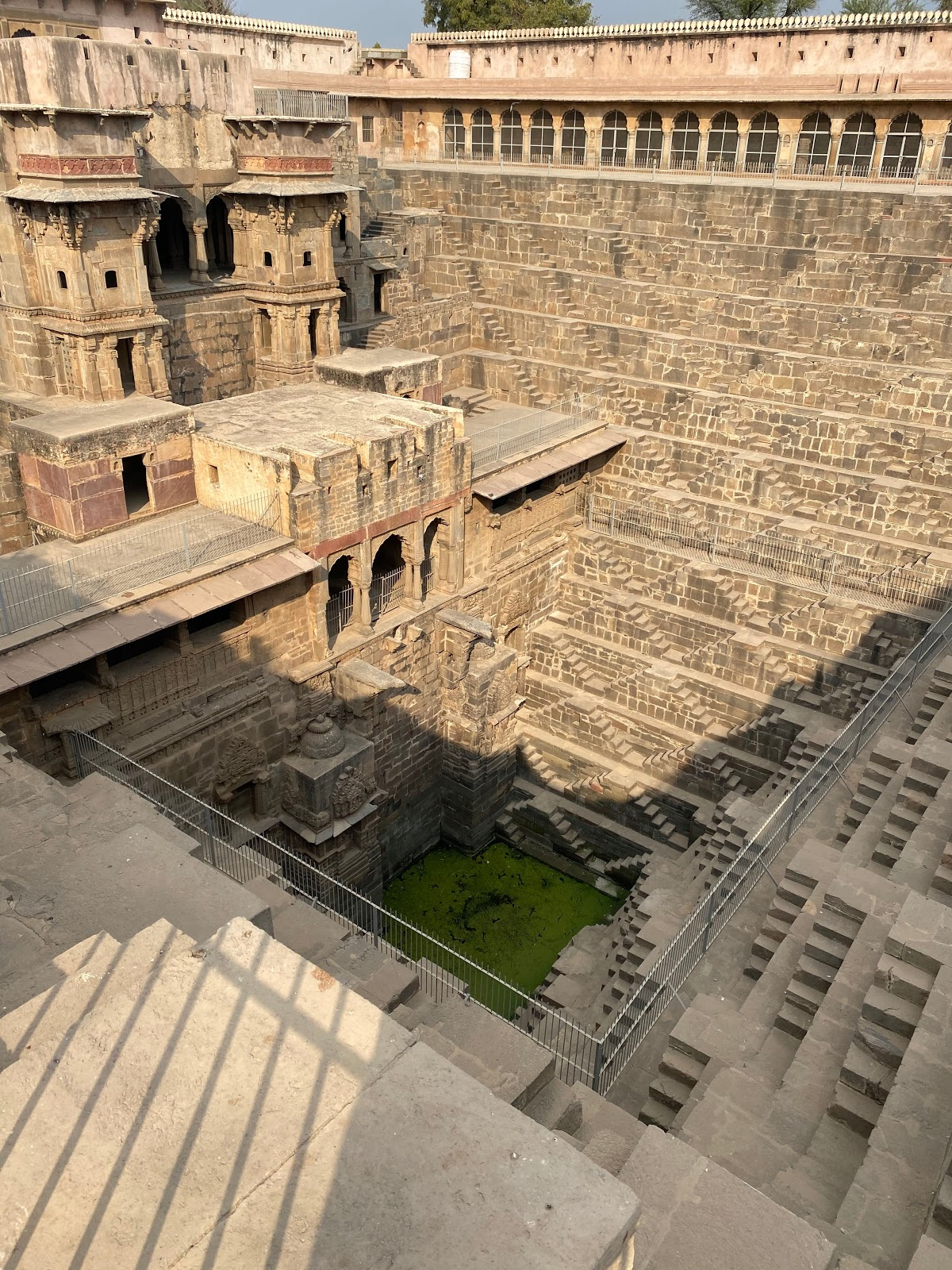 chand baori stepwell feat of architecture india design inspiration
