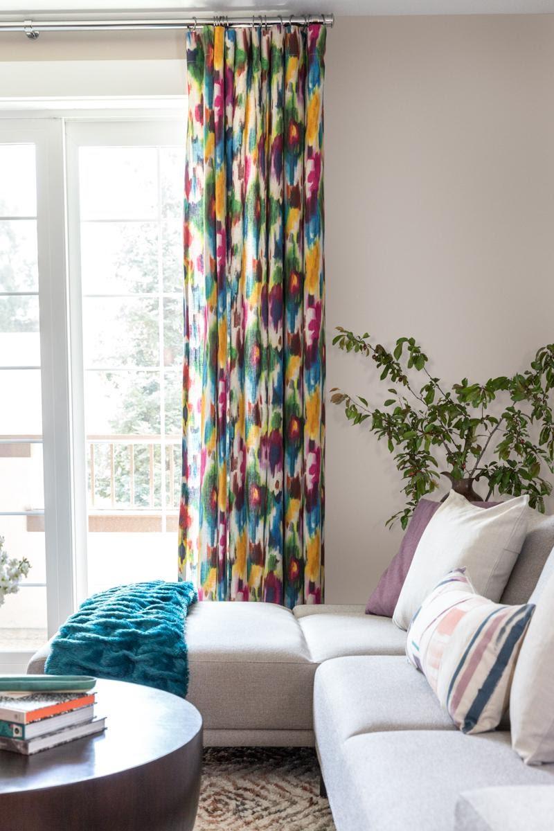 interior design walnut creek joy street design colorful window treatments blue yellow fuchsia