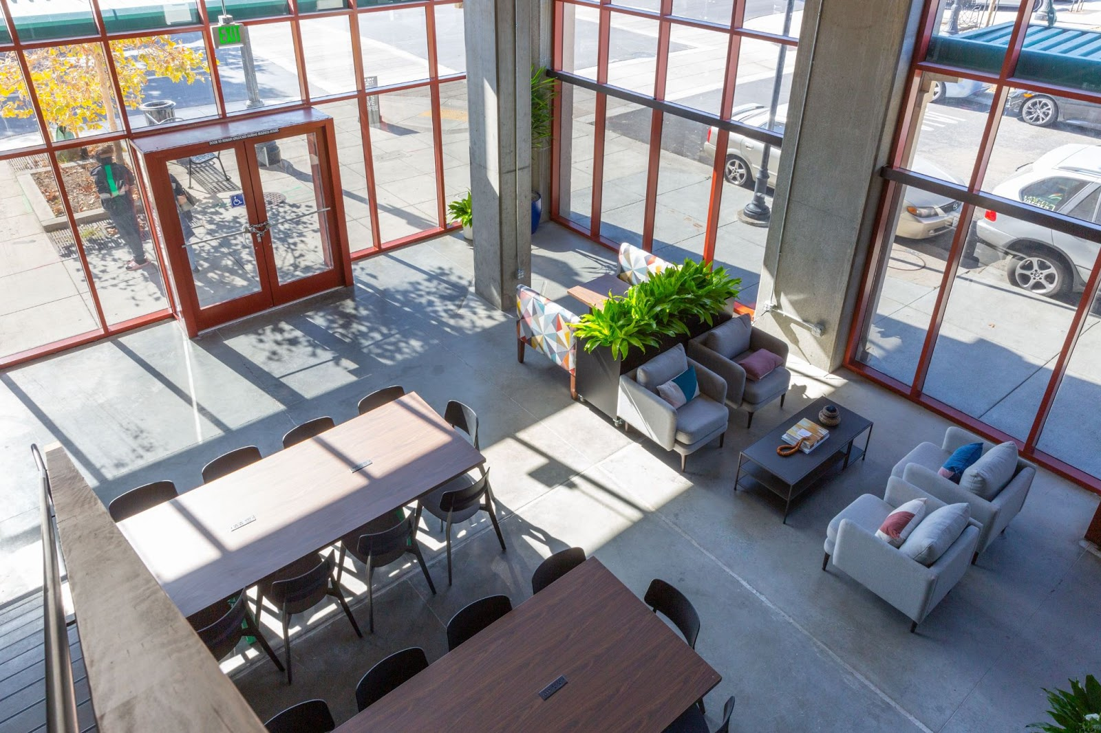 coworking space richmond east bay colorful design