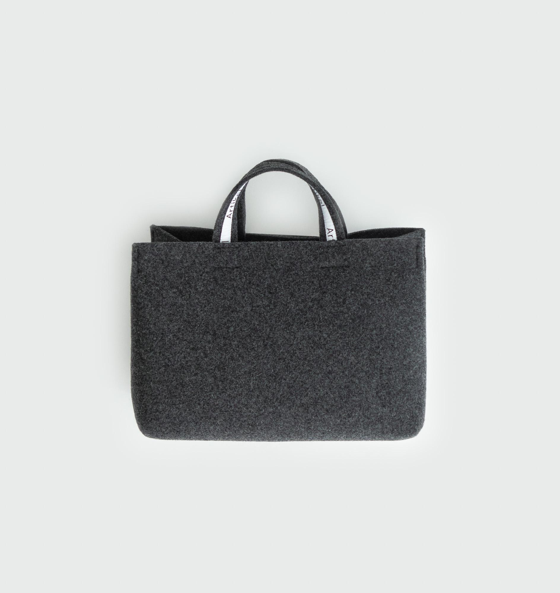 Felt wool bag by Artikel København, produced in Copenhagen
