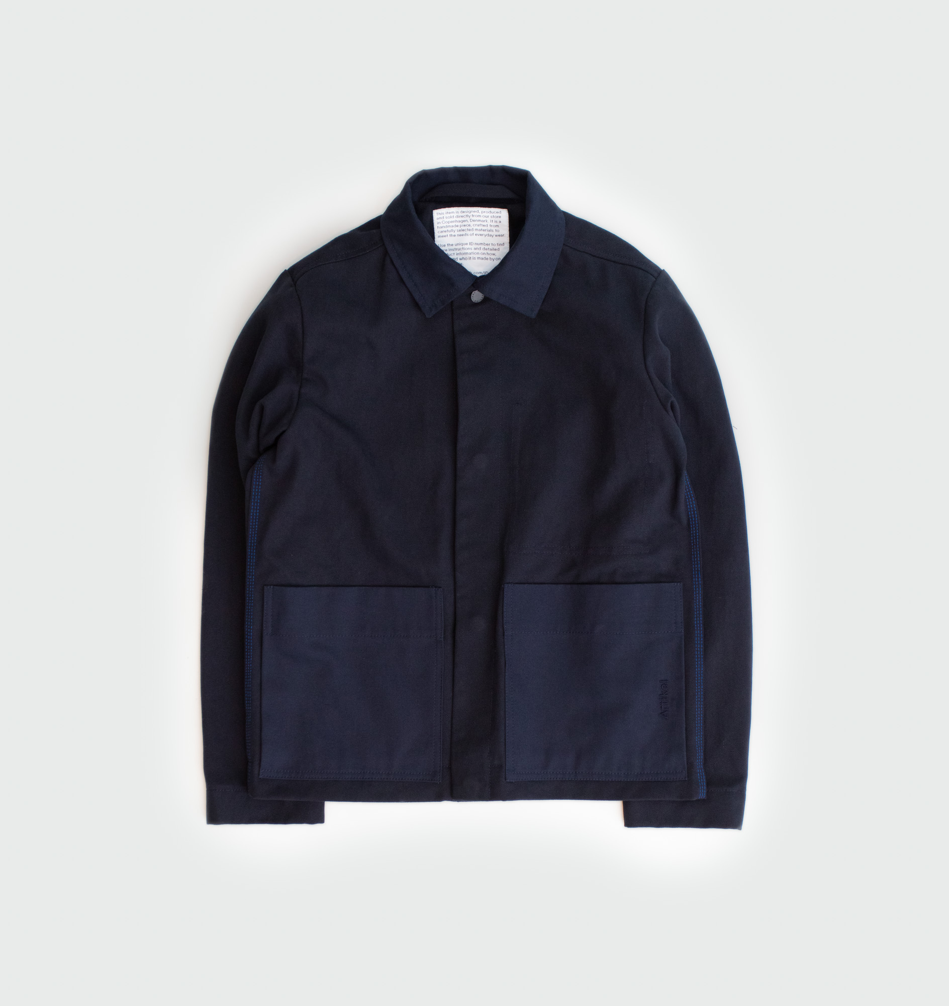 Twill jacket with Italian buttons by Artikel København, produced in Copenhagen