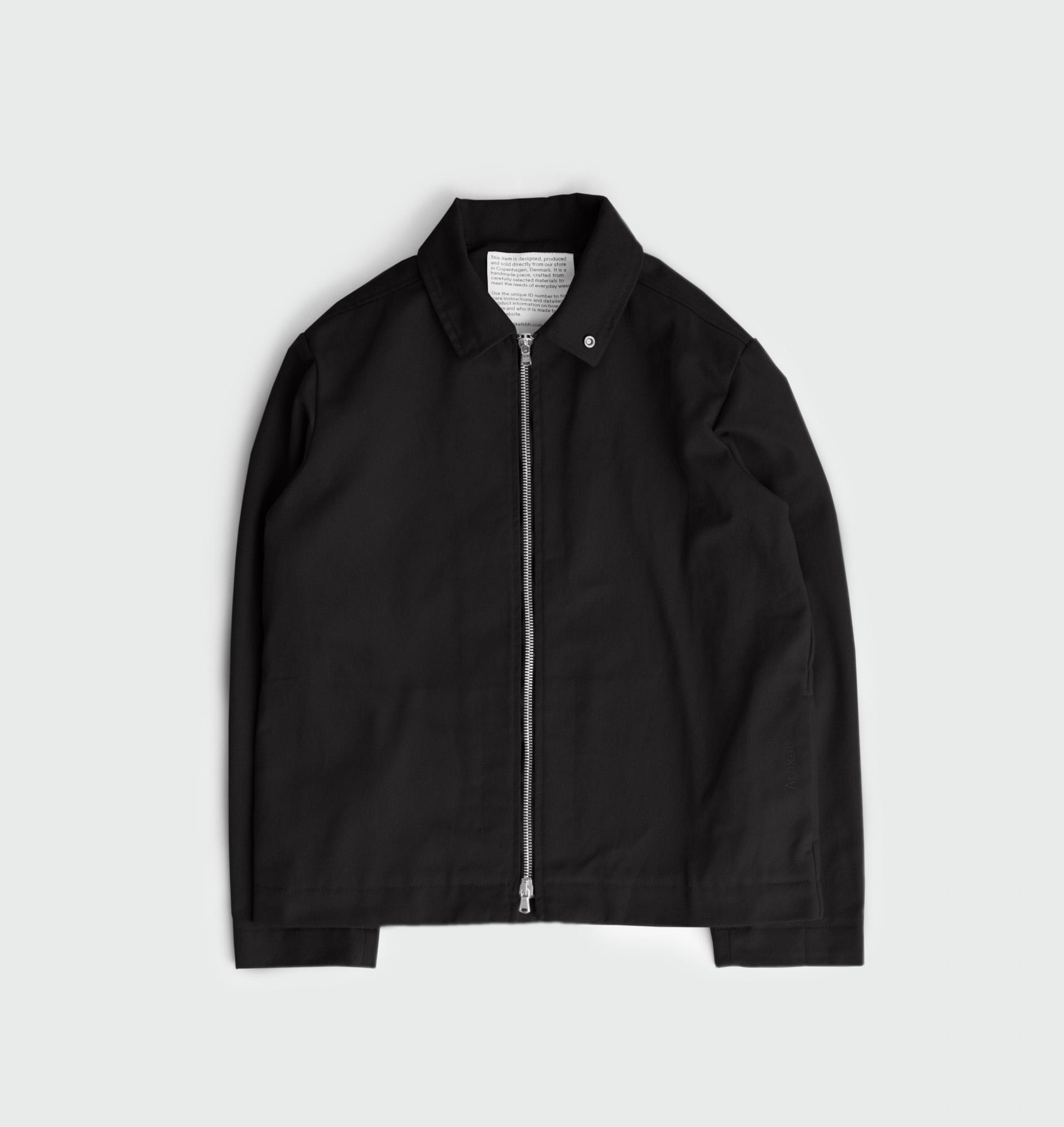Twill jacket with zipper by Artikel København