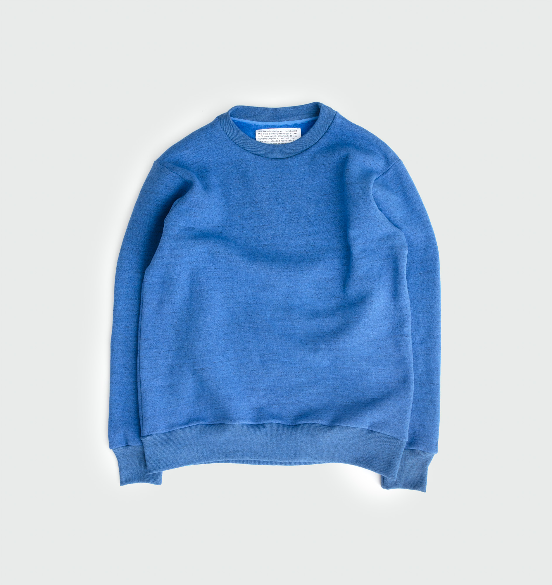 Sweat shirt with Tokisen cotton by Artikel København, produced in Copenhagen