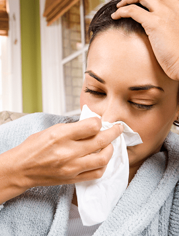 Swelling and infection in the sinus cavities can make you feel miserable!