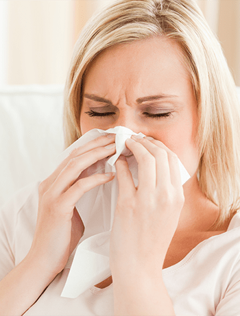 Chronic Rhinitis, Redness and Swelling in the Nose
