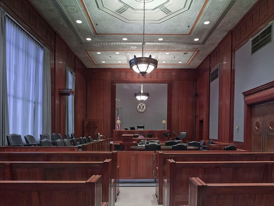 pa school tax appeal court room