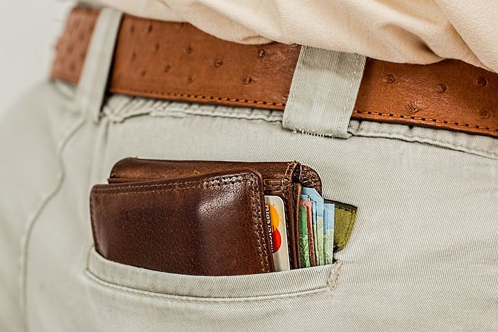 wallet, back pocket