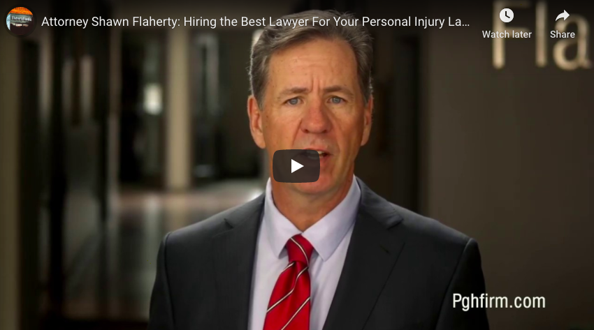 Attorney Shawn Flaherty: Hiring the Best Lawyer For Your Personal Injury Lawsuit