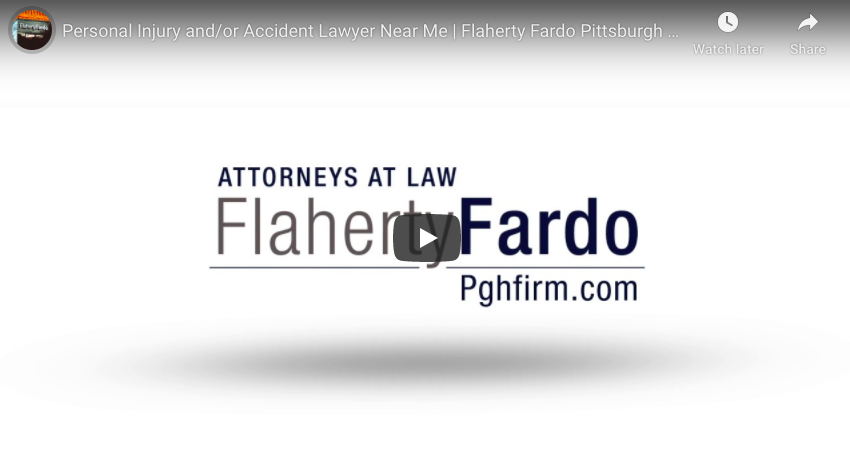 Personal Injury and/or Accident Lawyer Near Me | Flaherty Fardo Pittsburgh Attorneys