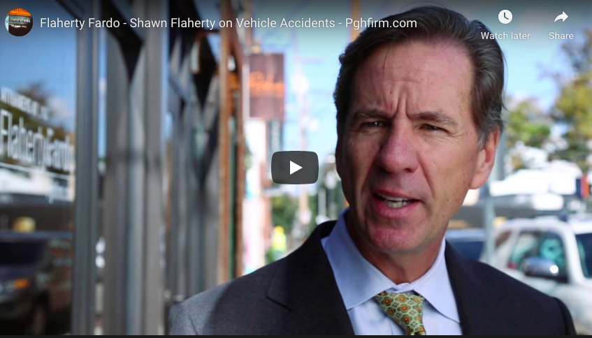 Flaherty Fardo - Shawn Flaherty on Vehicle Accidents - Pghfirm.com
