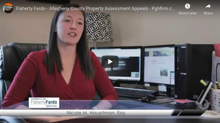 Flaherty Fardo - Allegheny County Property Assessment Appeals - Pghfirm.com