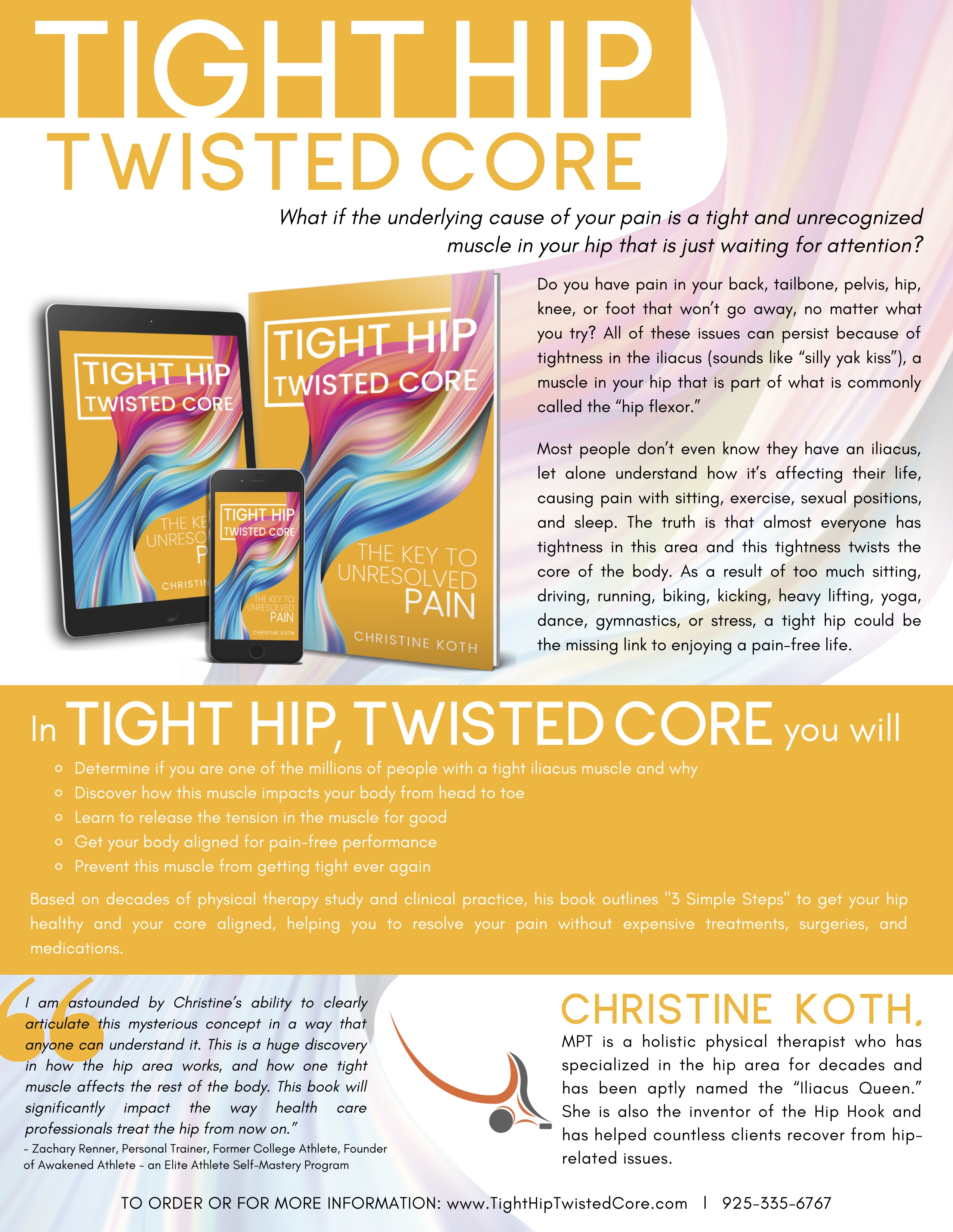 Tight Hip Twisted Core One Sheet
