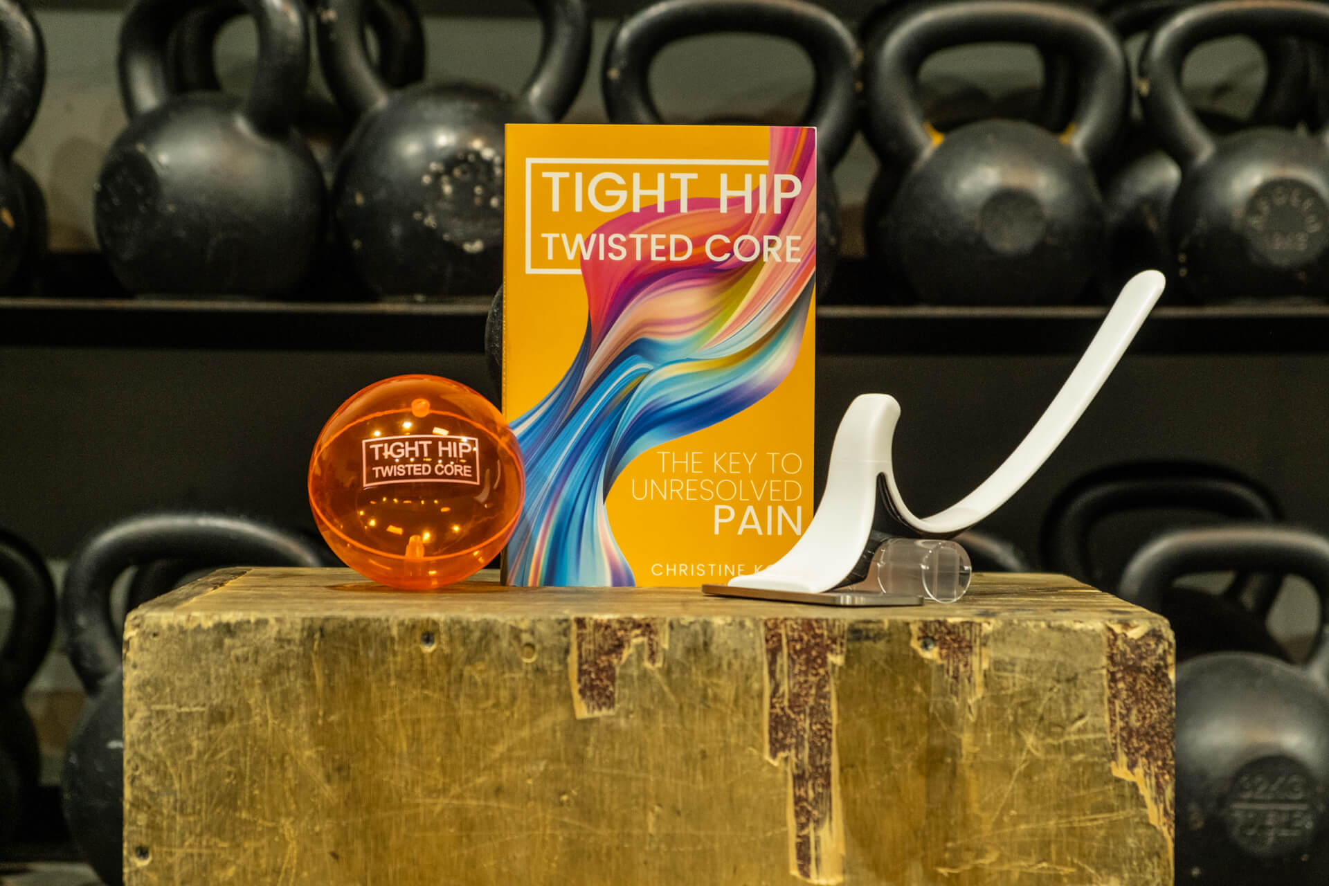 Tight hip twisted core book
