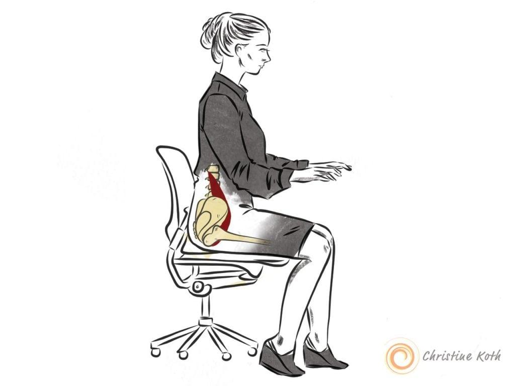 hip flexor sciatica pain sitting