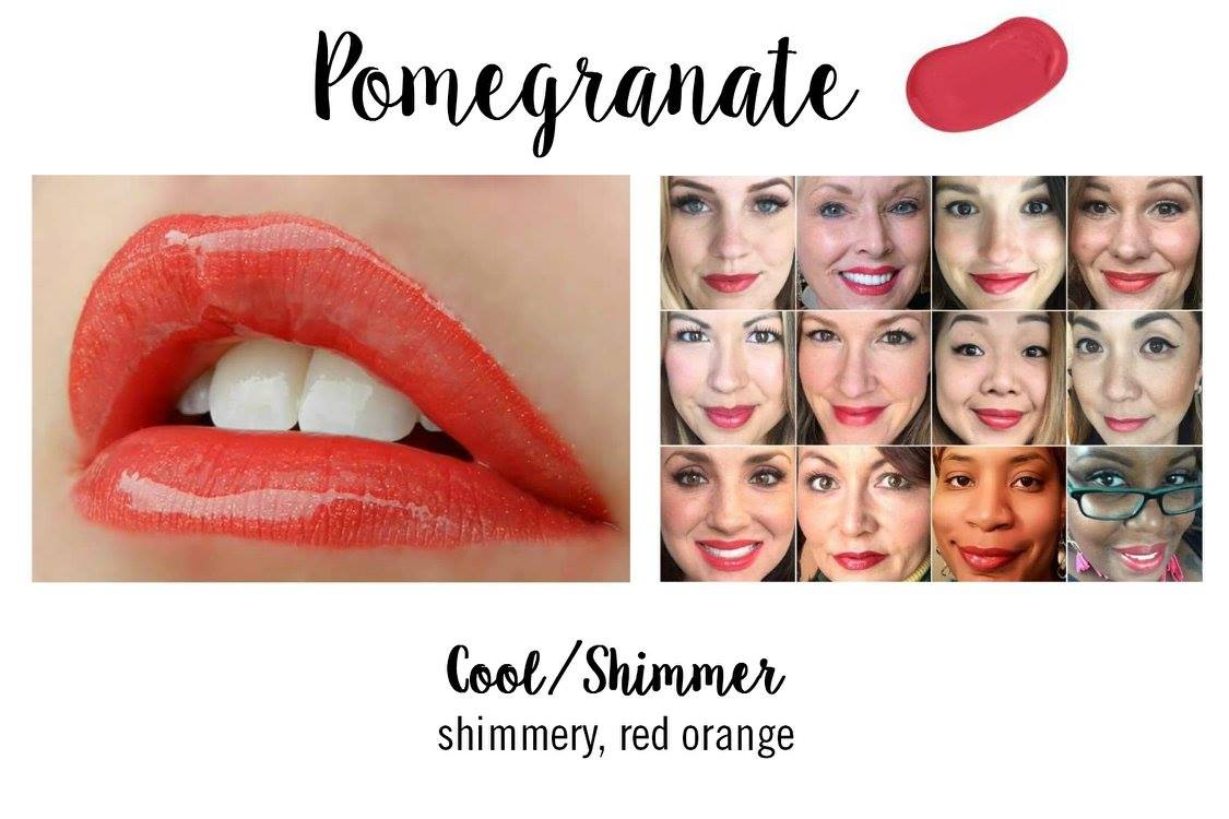 Pomegranate LipSense - Red Lip Color