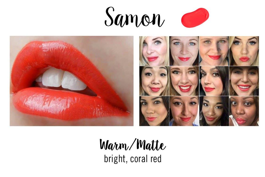 Samon LipSense - Summer Coral Lipstick