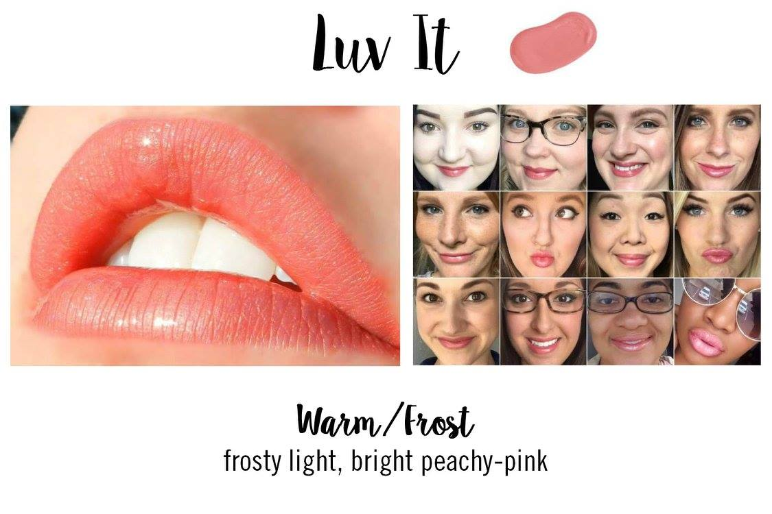 Luv It LipSense - Coral Lipstick