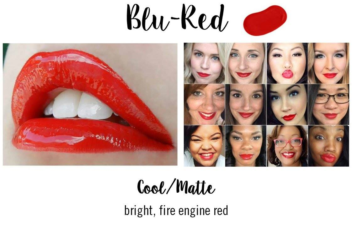 Blu-Red LipSense - Summer Red Lipstick
