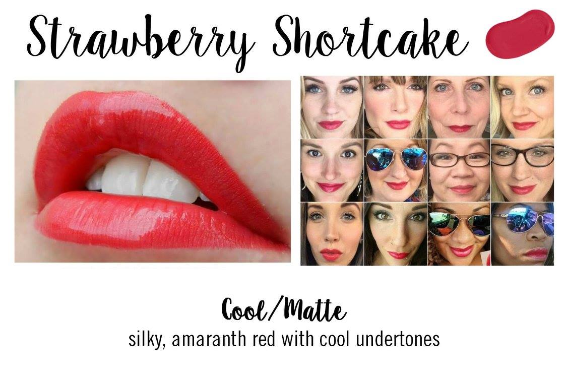 Strawberry Shortcake LipSense - Summer Lip Trend