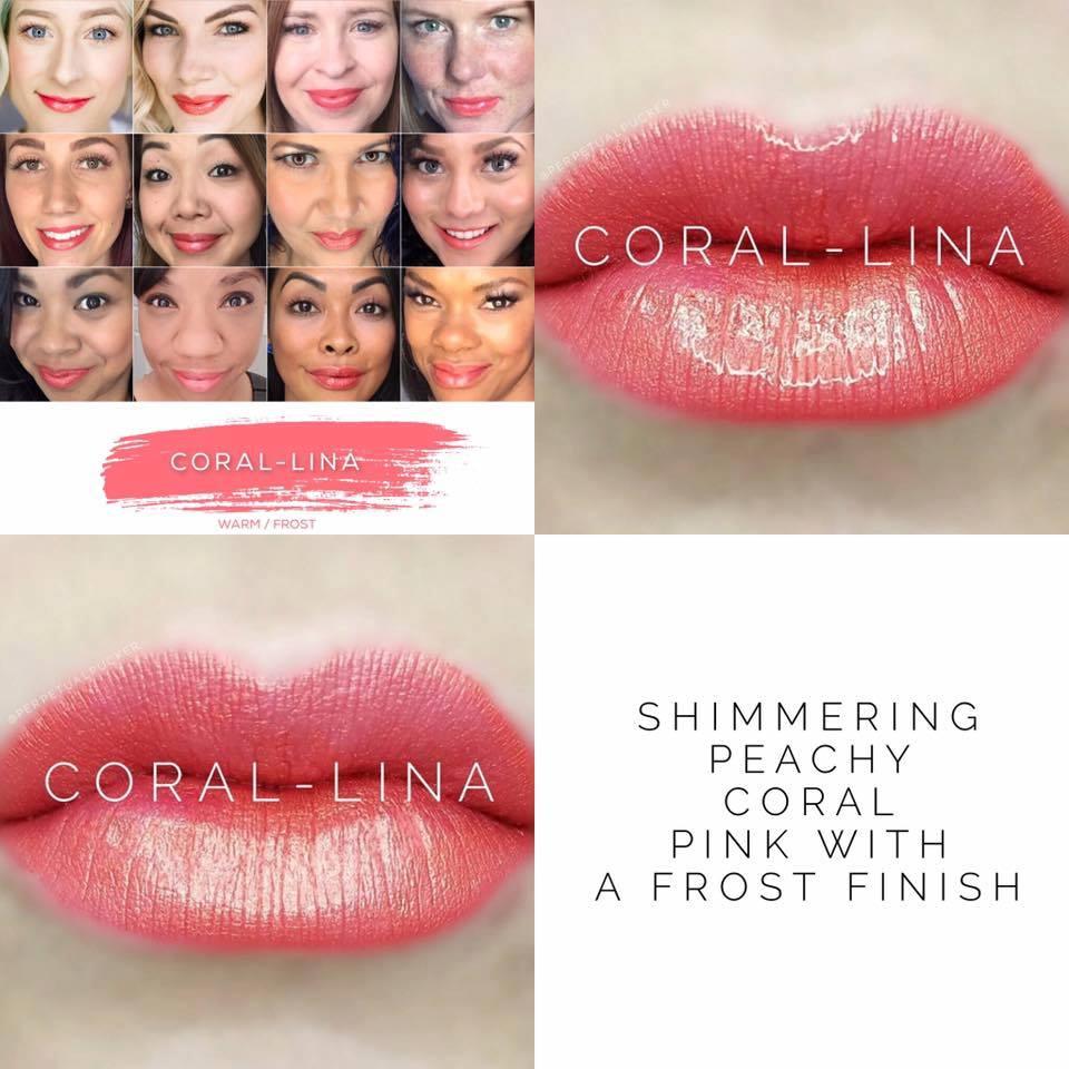 Coral-lina LipSense - Summer Coral Lipstick