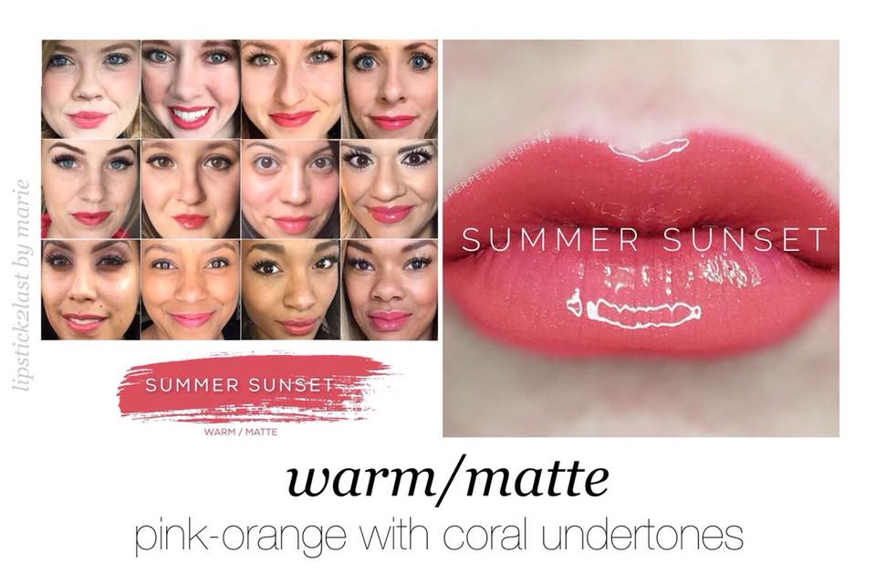 Summer Sunset LipSense - Perfect Summer Lip Color