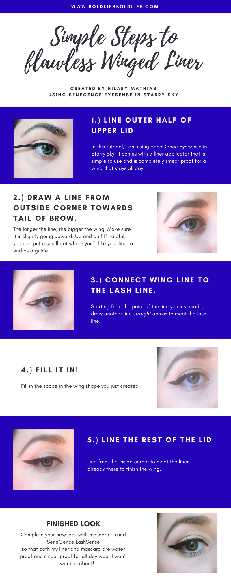 Winged Liner - Winged Eyeliner - How to Winged Liner